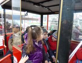 Partenza sul trenino Pippo